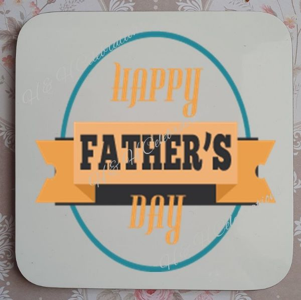 Father's Day Coaster Design 2
